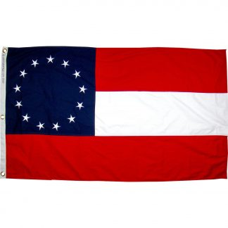 first national confederate flag 13 stars
