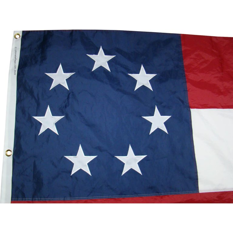 7 stars and bars flags
