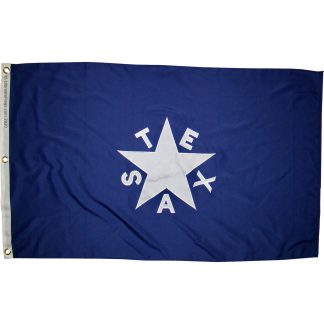 De Zavala Flag or Texas for Sale outdoor nylon embroidered heavy duty flags