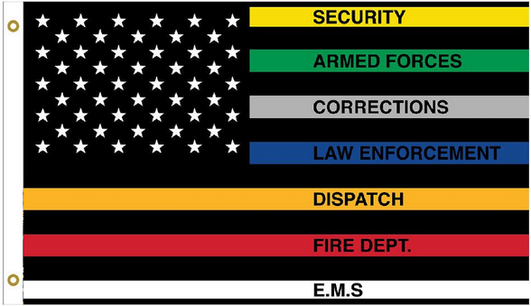Emergency-1st-Responders-multi-color-flags-for-sale