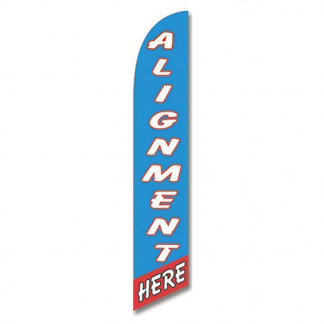 Alignment Here Advertising Banner (Complete set)