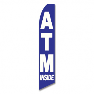 ATM Inside Advertising Flag (Flag Only)