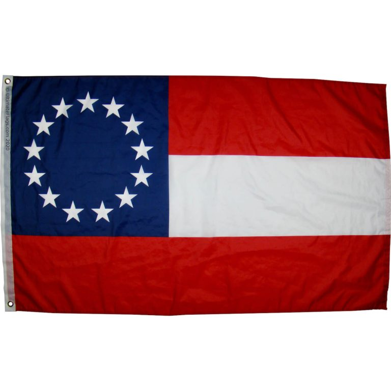 first national confederate flag for sale with 13 stars