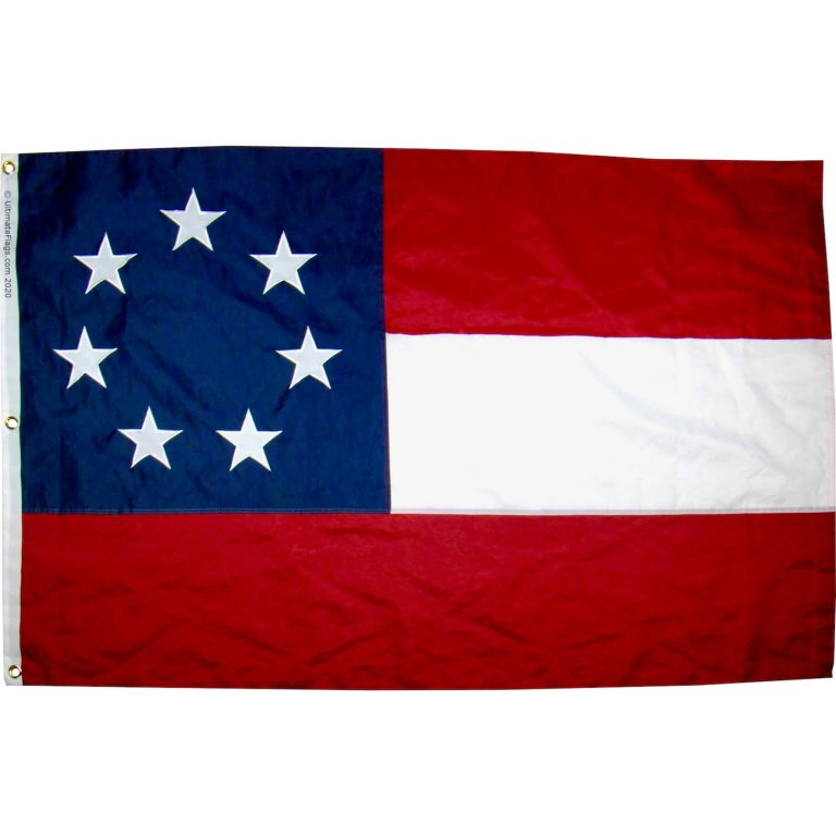 buy 1st national flag csa confederate stars and bars 7 stars