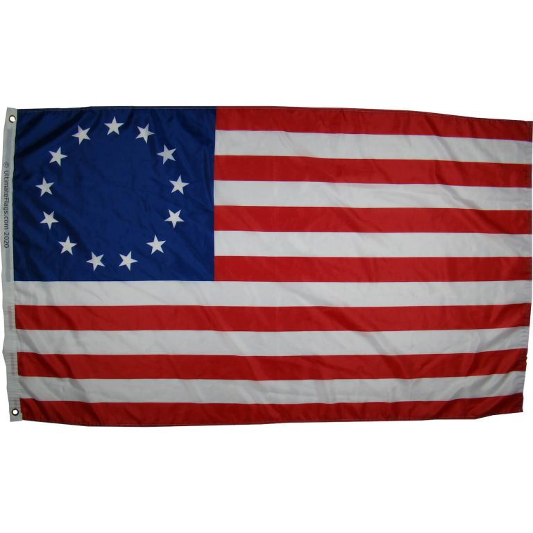13 star patriotic usa flag