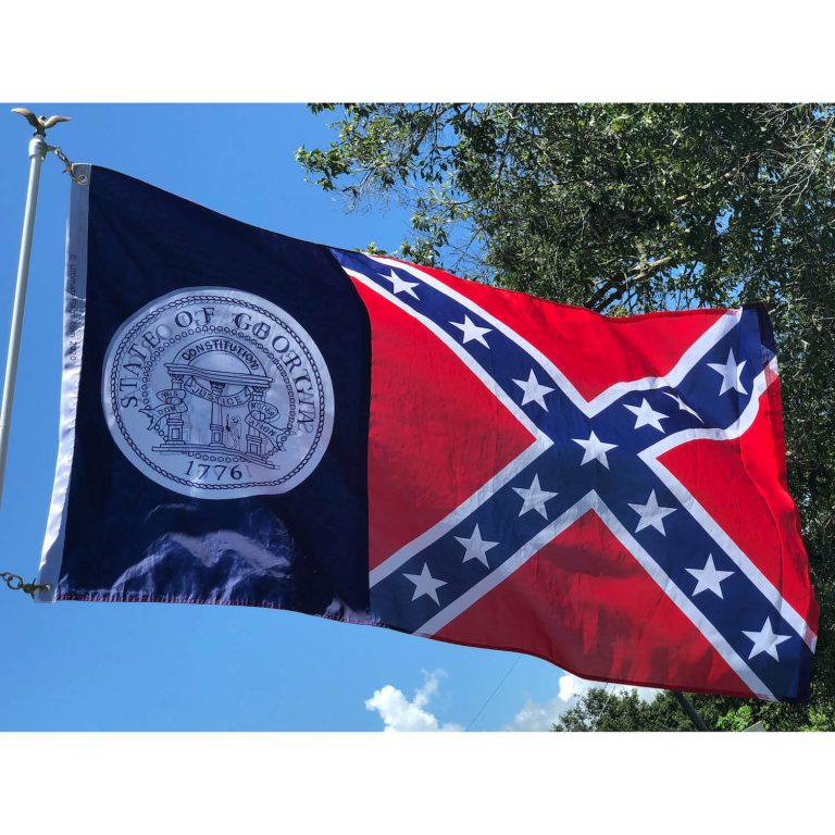 old georgia state flags for sale