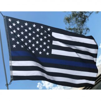 buy police flag back the blue thin blue line law enforcement flags for sale