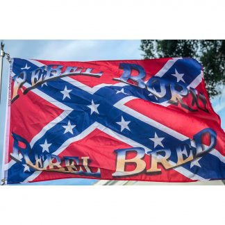 buy cool rebel flag rebel born rebel bred flags for sale