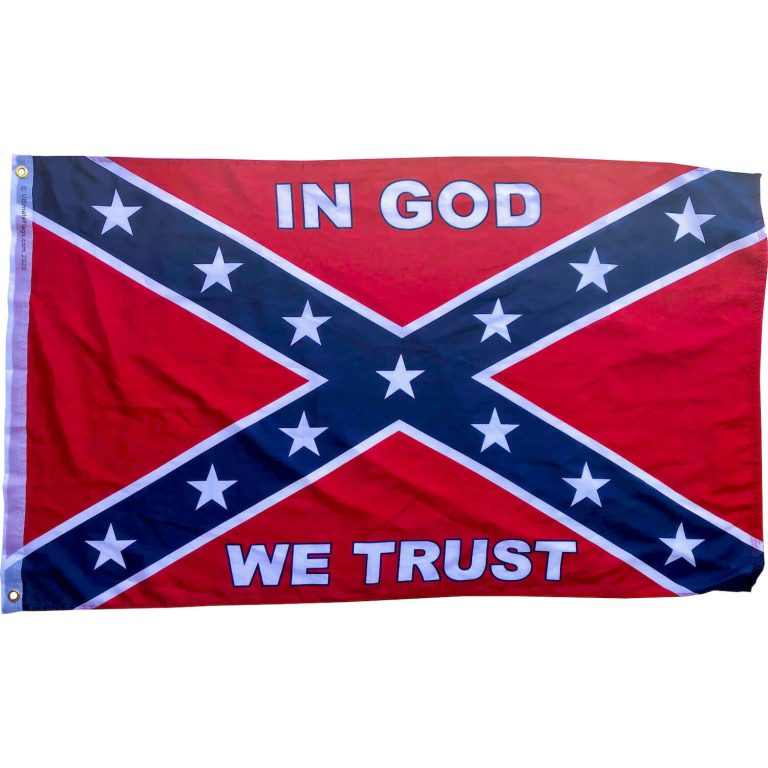 purchase in god we trust rebel flag