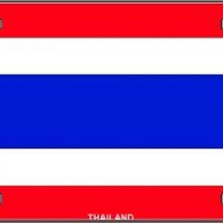 thailand flag license plate for sale