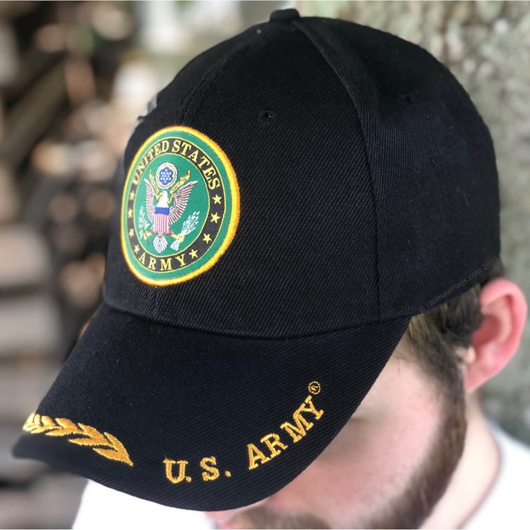 buy us army hat with seal for sale