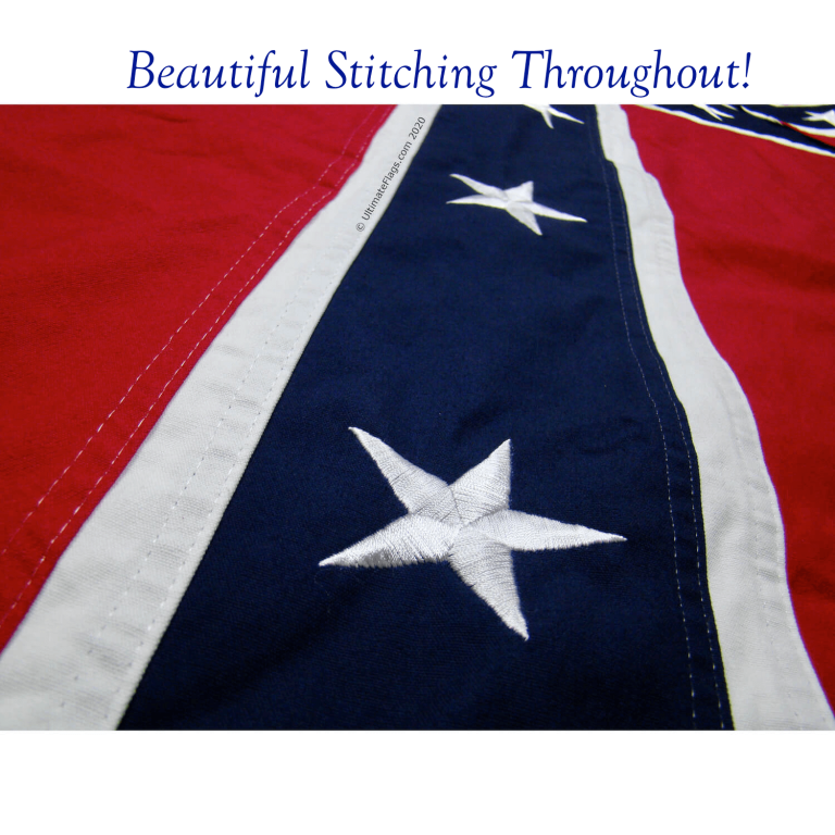 confederate battle flag for sale beautiful cotton stitching