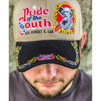 buy Robert E. Lee Cap Pride of the South Embroidered hat for sale