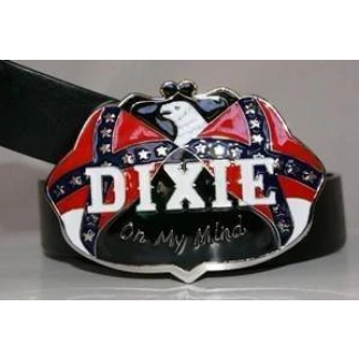 buy dixie belt buckle show off your southern pride!