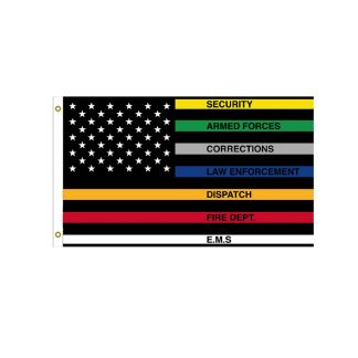 first responders flag