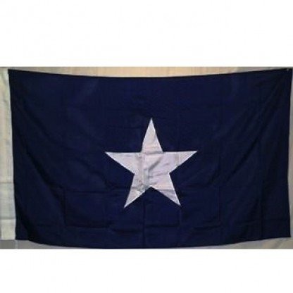 double nylon embroidered bonnie blue flag, great for trucks