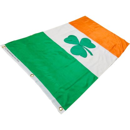 buy ireland flag with shamrock