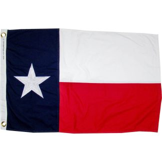 buy tx flag cotton sewn & embroidered