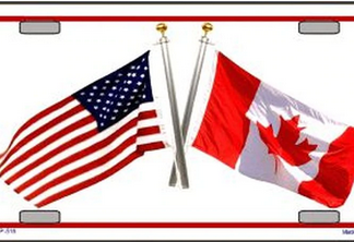 buy usa canada license plate