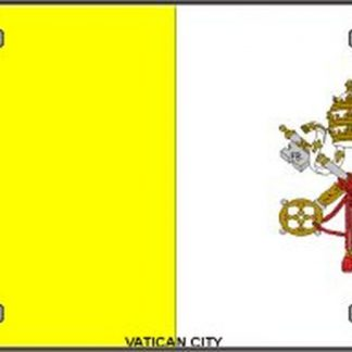 buy vatican city license plate