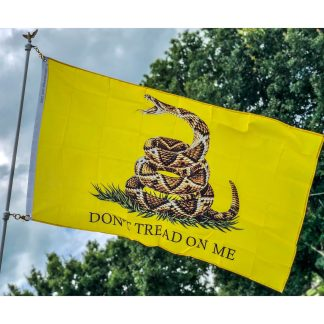 buy dont tread on me live rattlesnake flag