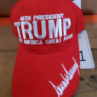Donald Trump Signed hat for sale