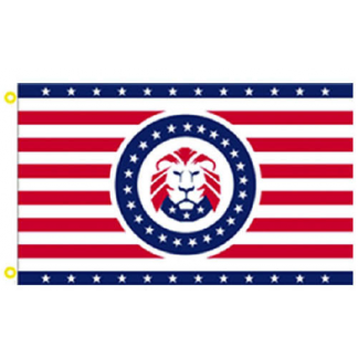 buy cool lion trump flag