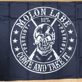 come and take it skull flag