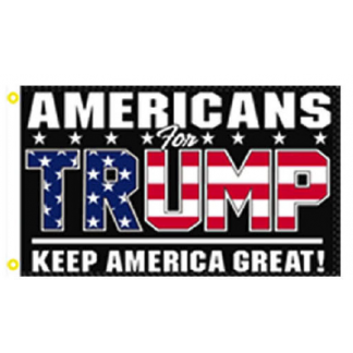 americans for trump flag