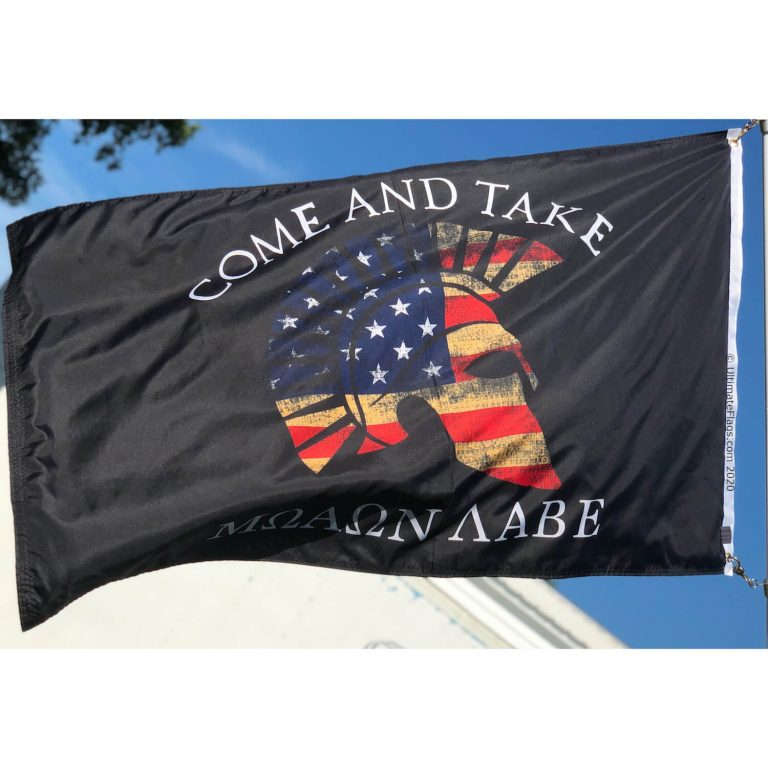 buy molon labe flag 2nd amendment spartan come and take it flag