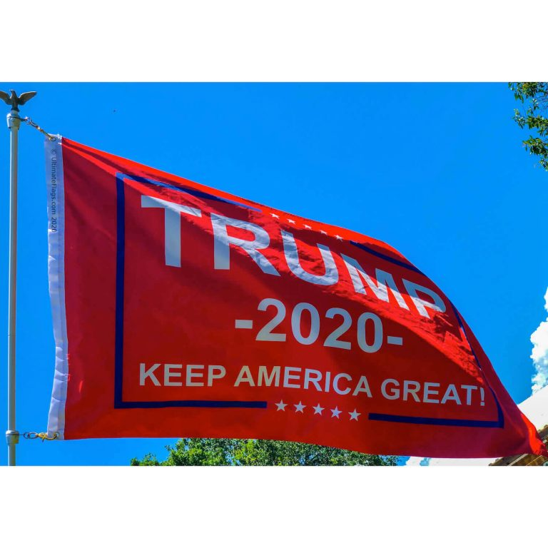 red trump 2020 flag for sale online