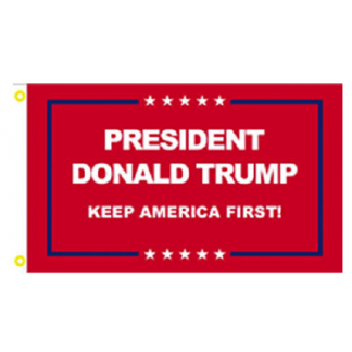 president donald trump flag