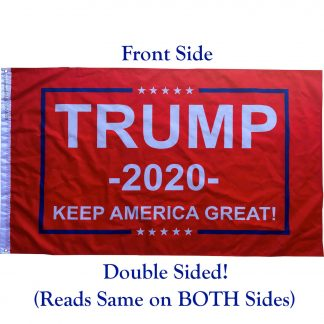 double sided trump flag for sale