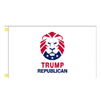 buy trump republican lion flag