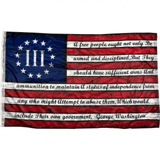 nyberg betsy ross gw bear arms quote flag