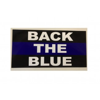 buy police sticker back the blue for sale