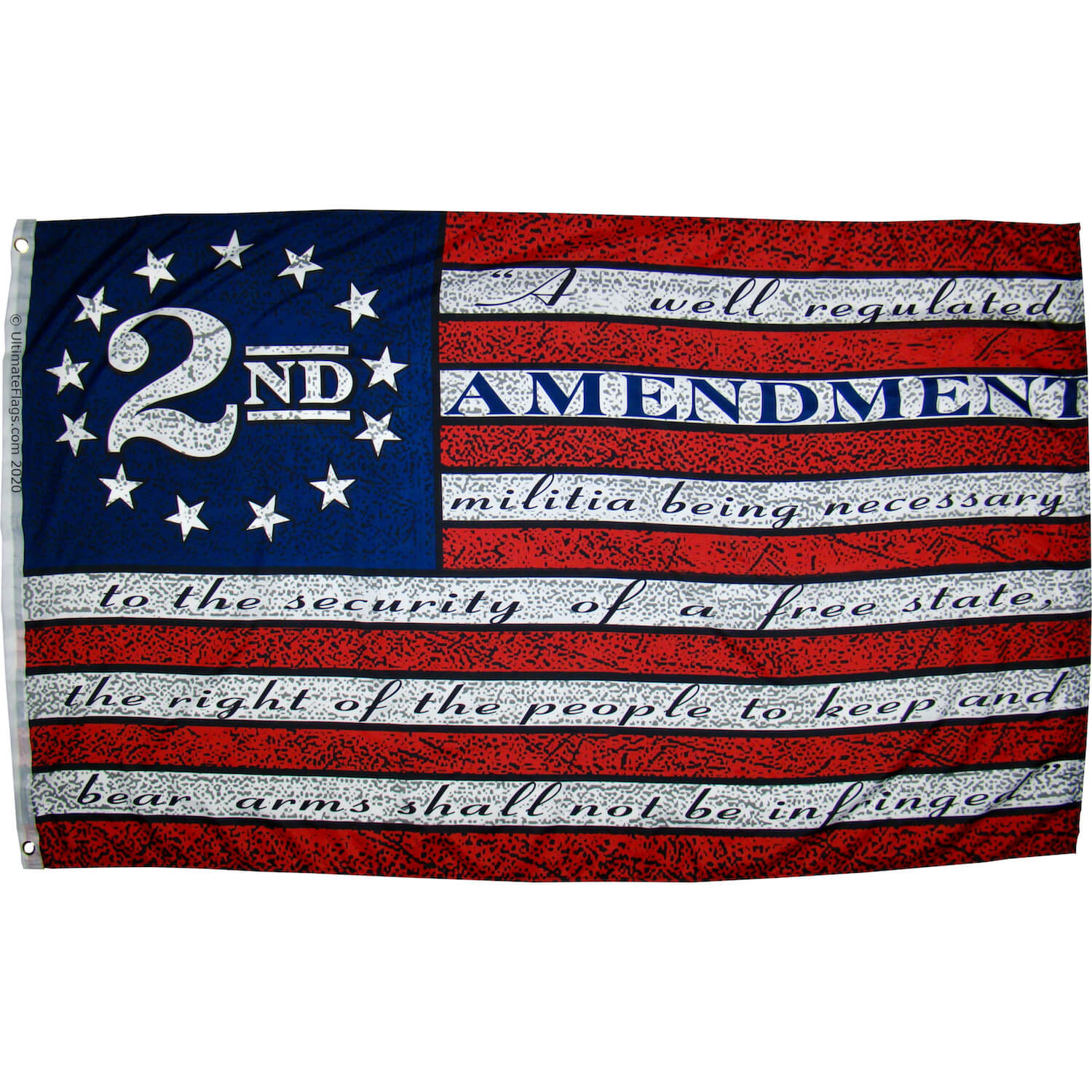 2nd Amendment Betsy Ross Flag