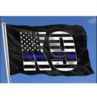 buy k9 blue line flag