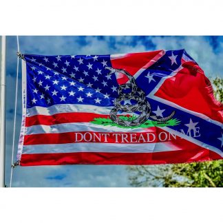 buy rebel usa Don't tread on me flag