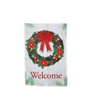 buy holiday welcome flag