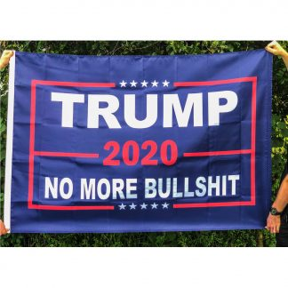 trump no more bullshit flag