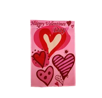 buy happy hearts valentine's day flag vday flags for sale