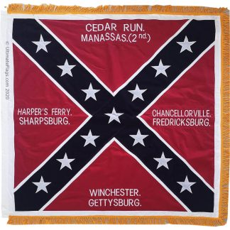 mannassas bull run infantry flag