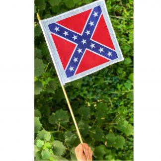 buy square rebel flag confederate battle flag on stick