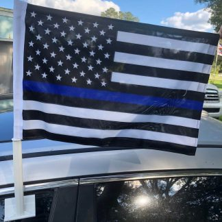 buy thin blue line flag for car