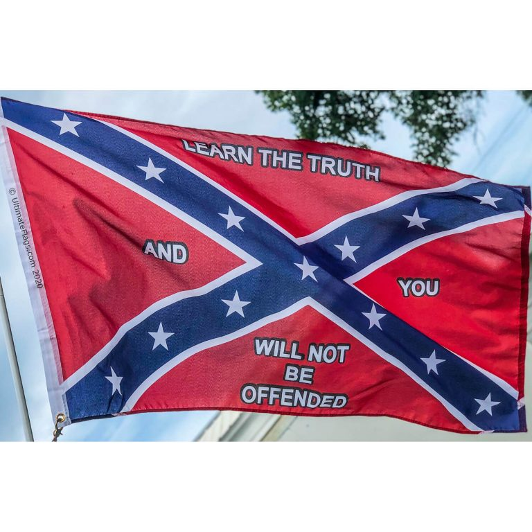 buy cool rebel flag learn the truth and you will not be offended by Confederate flag