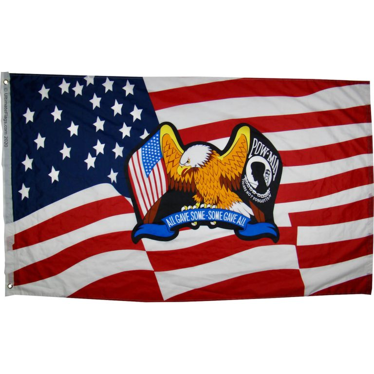 buy pow mia flag with eagle
