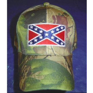 confederate battle flag camo cap