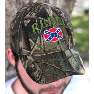 Rebel and Proud of It Camo Cap for sale