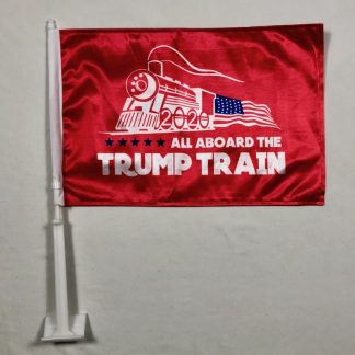 buy trump train flag for car
